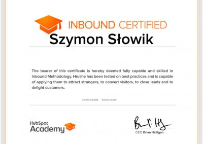 certyfikat hubspot academy