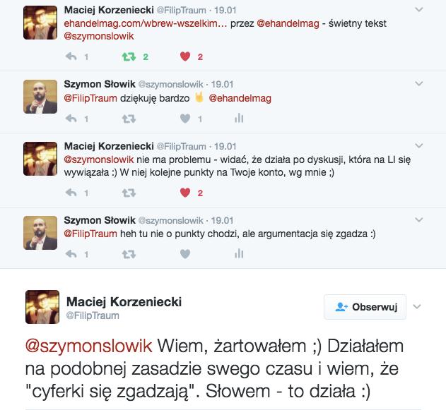 Maciej Korzeniecki Twitter
