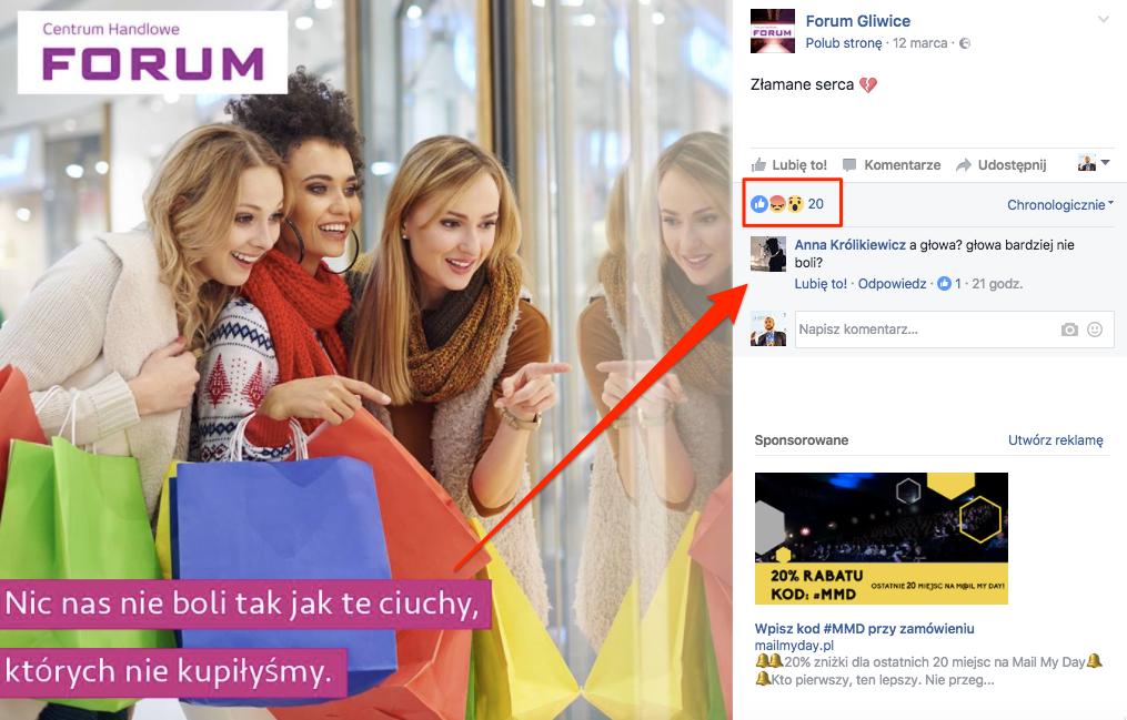 Reklamy CH Forum i niezadowoleni fani
