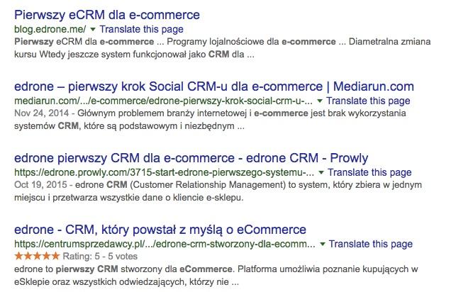 CRM dla ecommerce