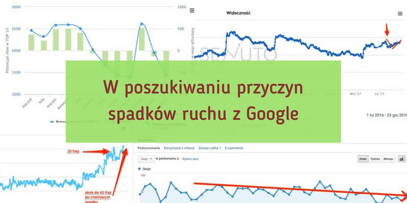 W poszukiwaniu przyczyn spadków ruchu w Google – fluktuacje, aktualizacje, filtry, sezonowość w SEO
