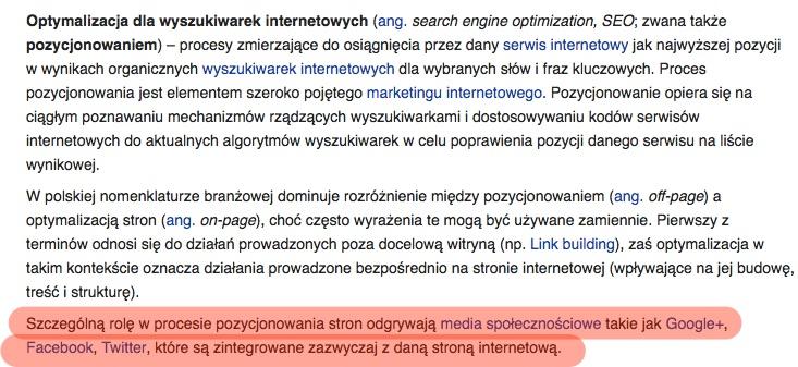 seo definicja wikipedia
