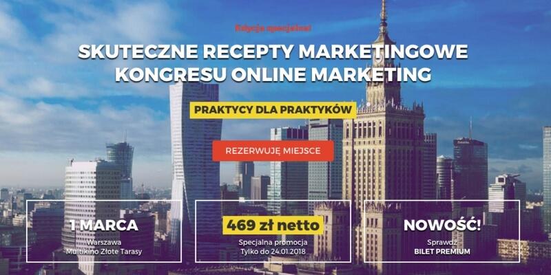 Kongres Online Marketing – zapowiedź 15. edycji