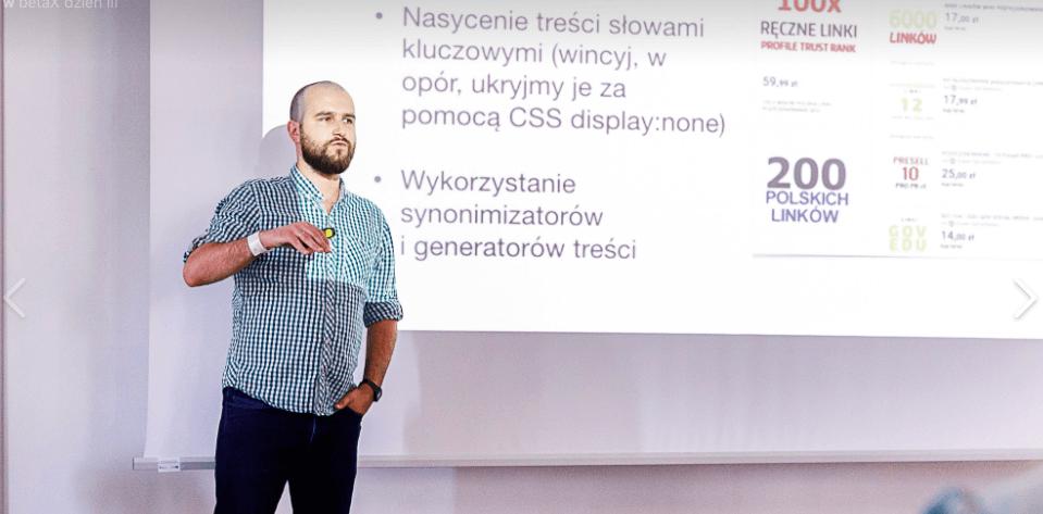 InternetBeta X – prezentacja i podziękowania