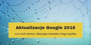 aktualizacje jakosciowe google
