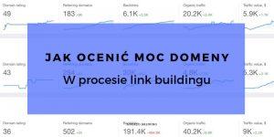 jak ocenic moc domeny